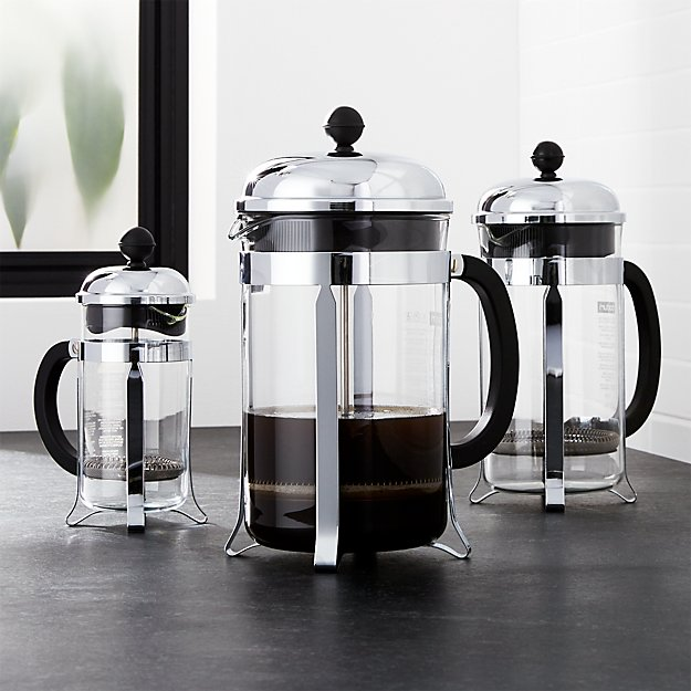 bodum chambord french press crate and barrel. Black Bedroom Furniture Sets. Home Design Ideas