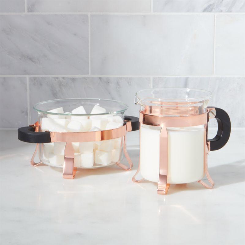 Functional Copper Kids Kitchen Set: Bodum Copper Cream And Sugar Set + Reviews