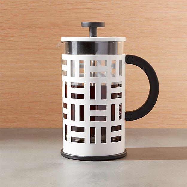 Bodum ® Eileen White French Press Coffeemaker