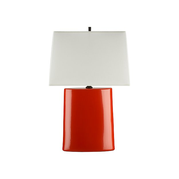 Boka Red Table Lamp In Table Amp Desk Lamps Reviews