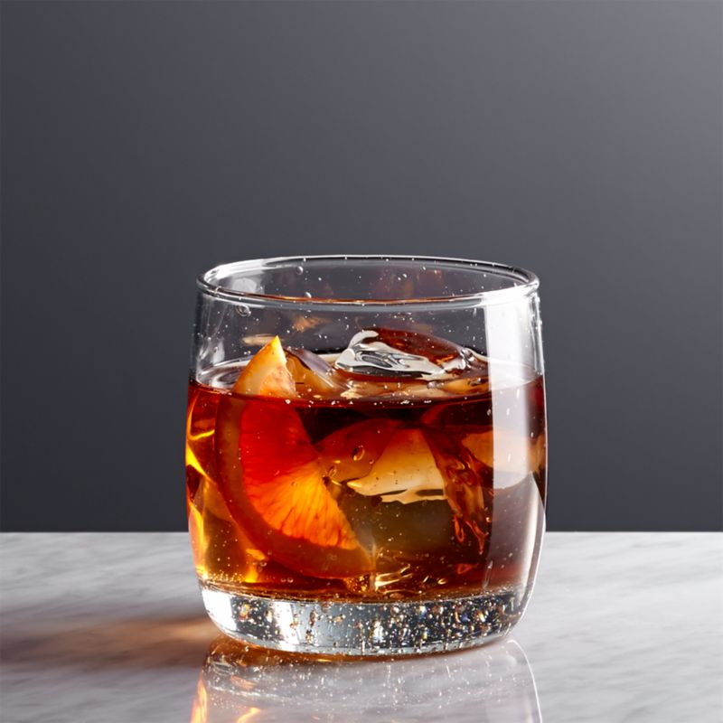 Bola Double Old Fashioned Glass Reviews Crate And Barrel