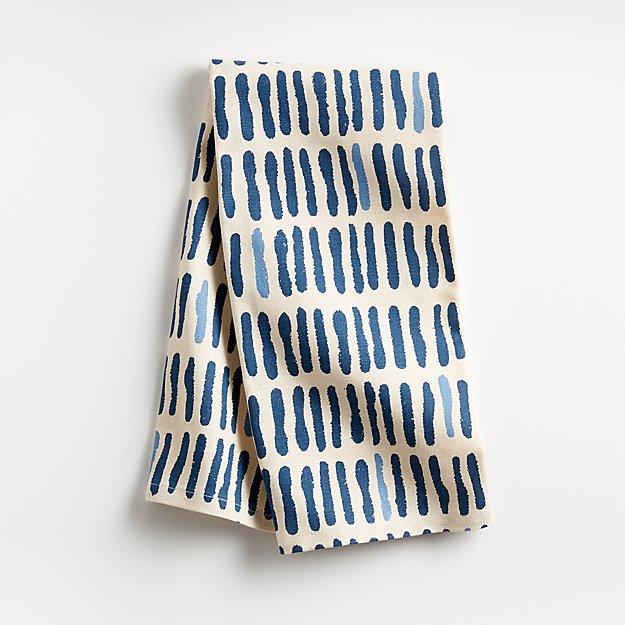 Bolt Blue Dish Towel - Image 1 of 4