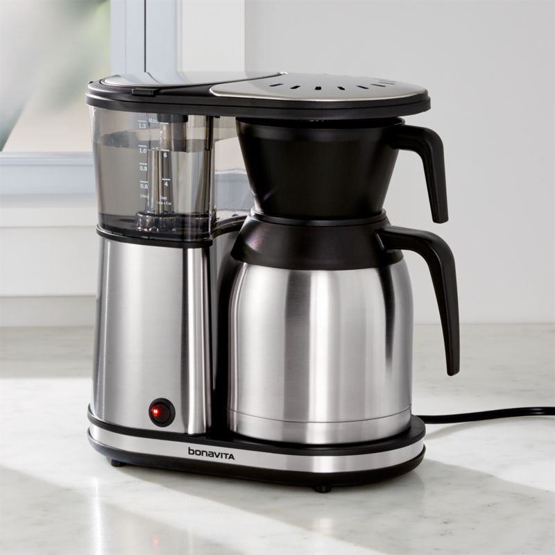 Bonavita Coffee Maker Maintenance : Bonavita 8-Cup Coffee Maker BV1900TS Crate and Barrel