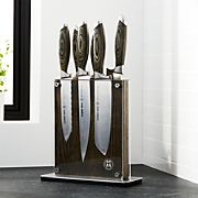 Schmidt Brothers ® Bonded Ash 7-Piece Knife Set