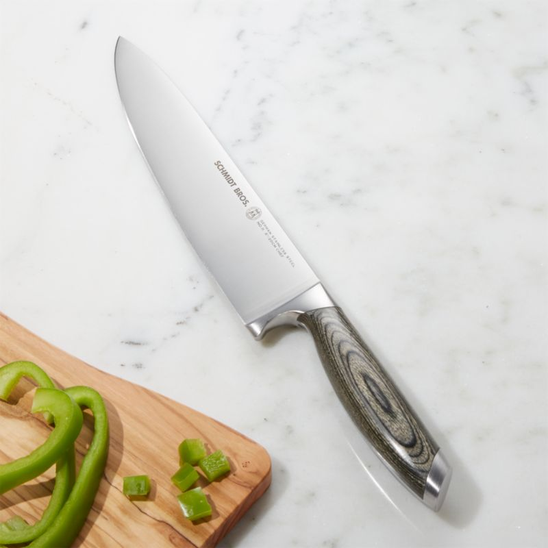 Schmidt Brothers Bonded Ash Chef S Knife Reviews Crate