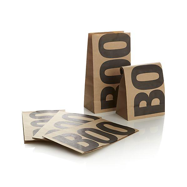Set of 12 Boo Treat Bags