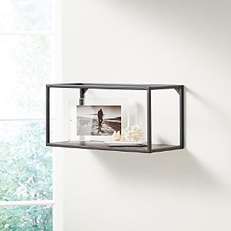 Booker Long Rectangle Wall Display Shelf