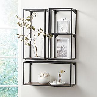 Booker Small Vertical Shelf, Set of 3
