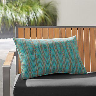 Boomerang Outdoor Lumbar Pillow