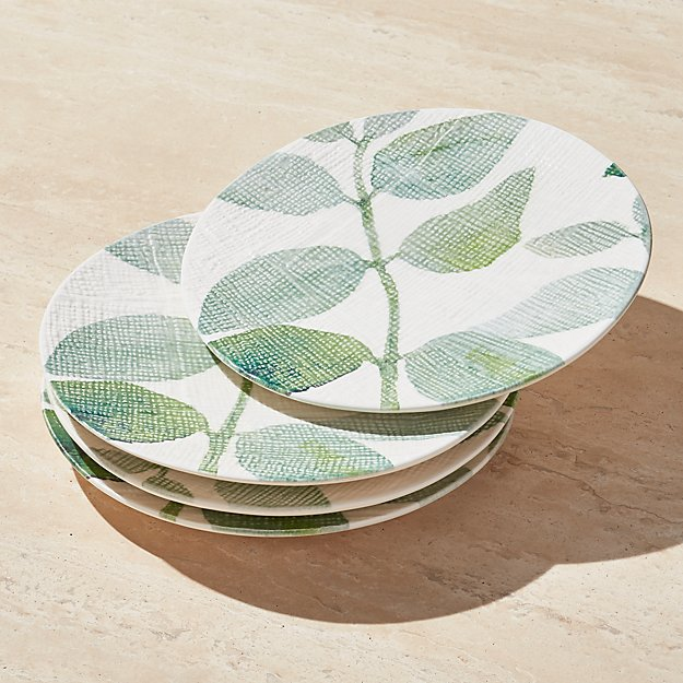 Botanico Salad Plates, Set of 4 - Image 1 of 3