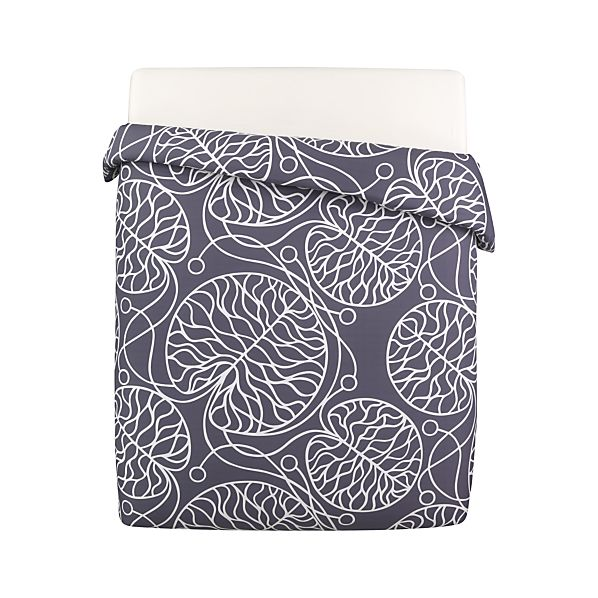 Marimekko Bottna Slate Full/Queen Duvet Cover