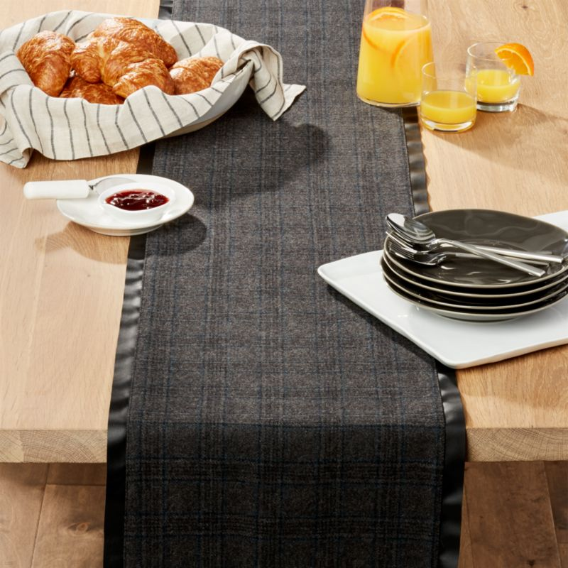 Bowry Felt 90 Table Runner Crate And Barrel
