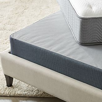 simmons beautysleep triton lowprofile box spring - Mattress And Box Spring