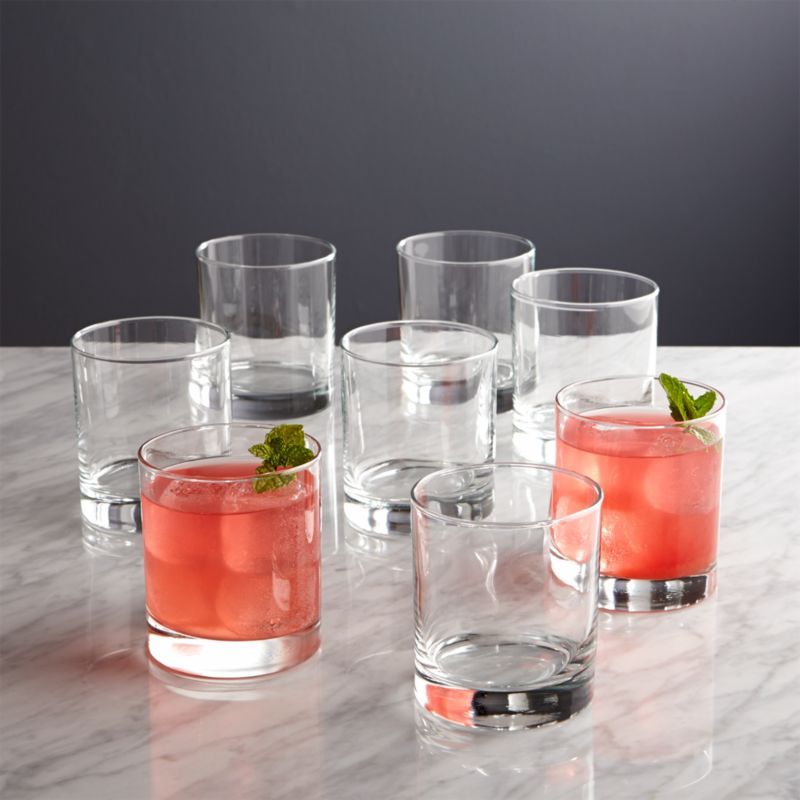 Set Of 8 Boxed Double Old Fashioned Glasses Reviews