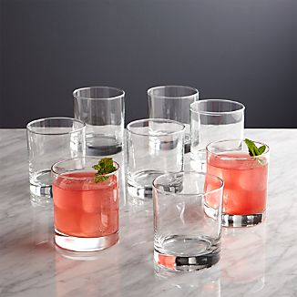 Set of 8 Boxed Double Old-Fashioned Glasses