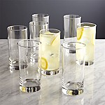 Boxed Highball Glasses, Set of 8