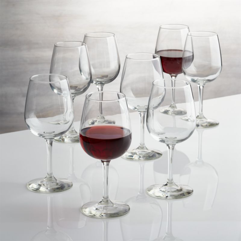 Boxed Wine Glasses Set Of 8 Reviews Crate And Barrel