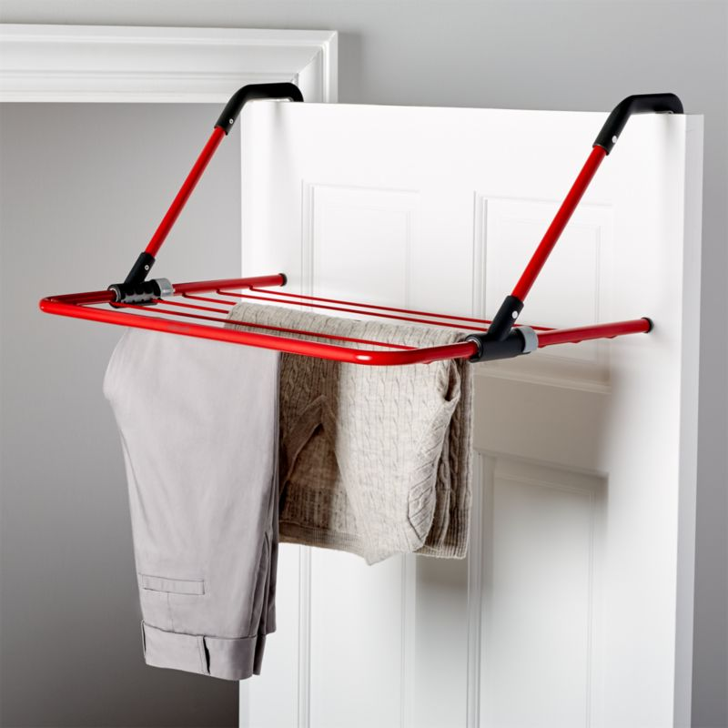 Brabantia Red Hanging Drying Rack Reviews Crate And Barrel