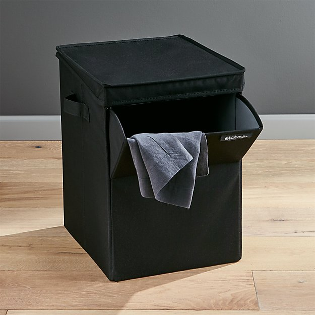 Brabantia Black Stackable Laundry Sorter