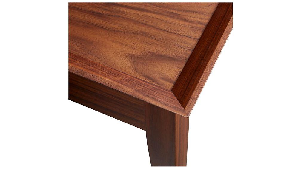 Bradley Walnut Side Table with Drawer