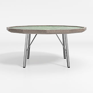 Bradshaw Green Marble Coffee Table