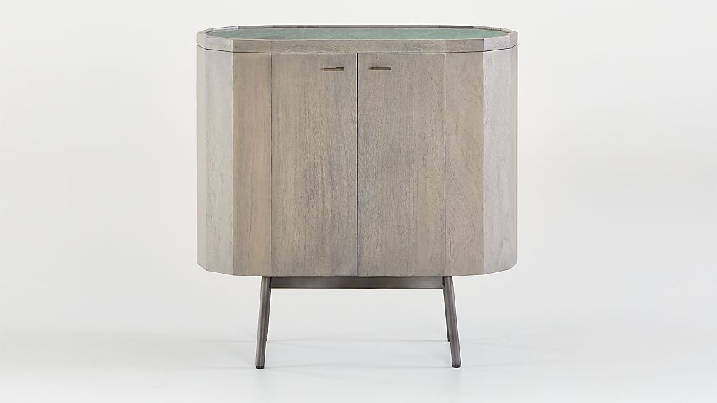 Bradshaw Small Green Marble Sideboard - Image 1 of 7
