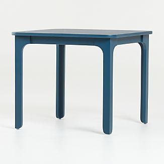 Brady Midnight Blue Square Play Table