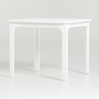 Brady White Square Play Table