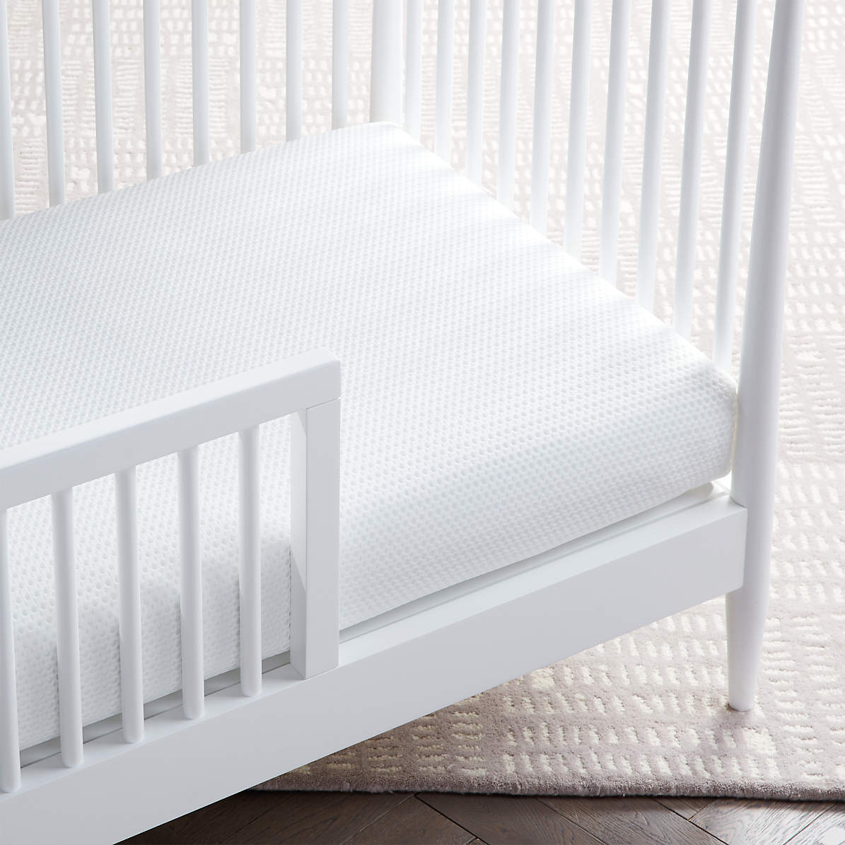 Lullaby Earth Breeze Breathable 2 Stage Crib Mattress Reviews Crate And Barrel