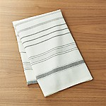 Brennan Grey Stripe Dish Towel