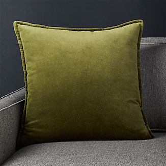 Green Throw Pillows | Crate and Barrel