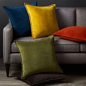 Brenner 20 Velvet Pillows