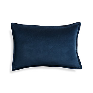 Crate And Barrel Decorative Pillow Cases : Set of 2 Bennett Blue Standard Pillow Case Crate and Barrel