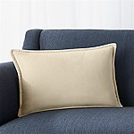 Brenner Sesame 18 x12  Velvet Pillow with Feather-Down Insert