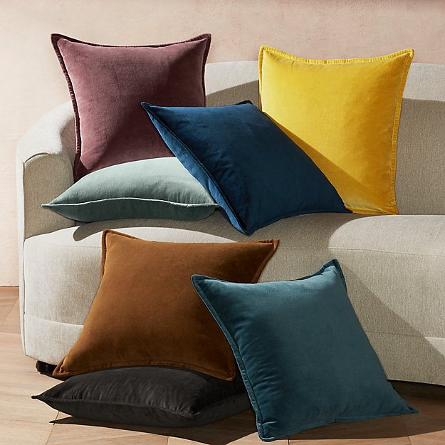 "Brenner 20"" Velvet Pillows - Image 1 of 1"