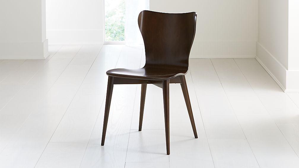 Brera Aretina Walnut Bentwood Dining Chair - Image 1 of 7
