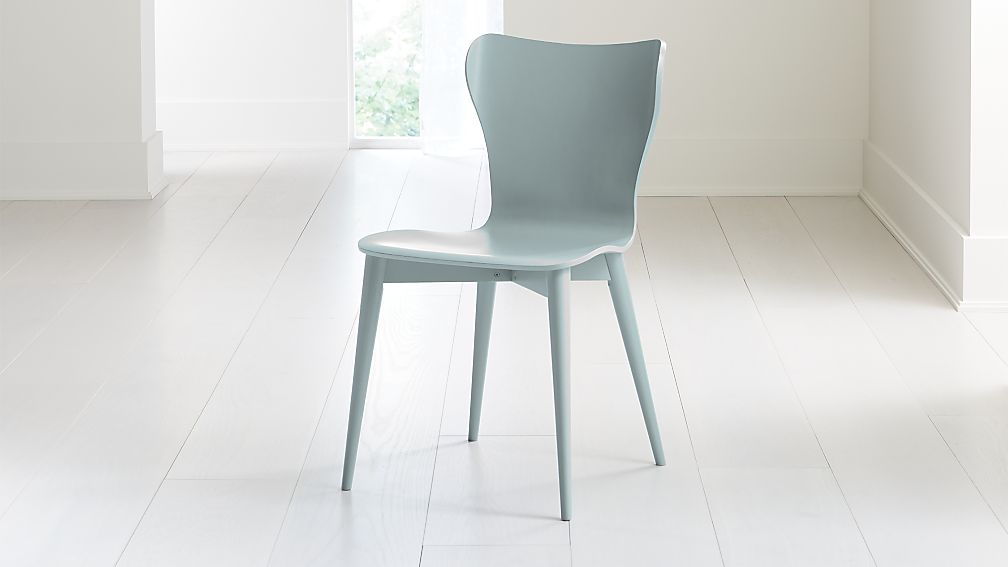 Brera Blue Grey Bentwood Dining Chair - Image 1 of 7