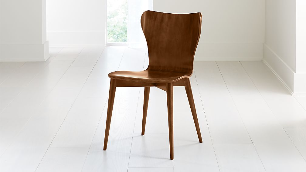 Brera Nero Noce Bentwood Dining Chair - Image 1 of 7