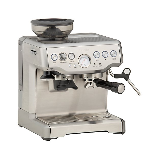breville barista espresso machine in espresso makers. Black Bedroom Furniture Sets. Home Design Ideas