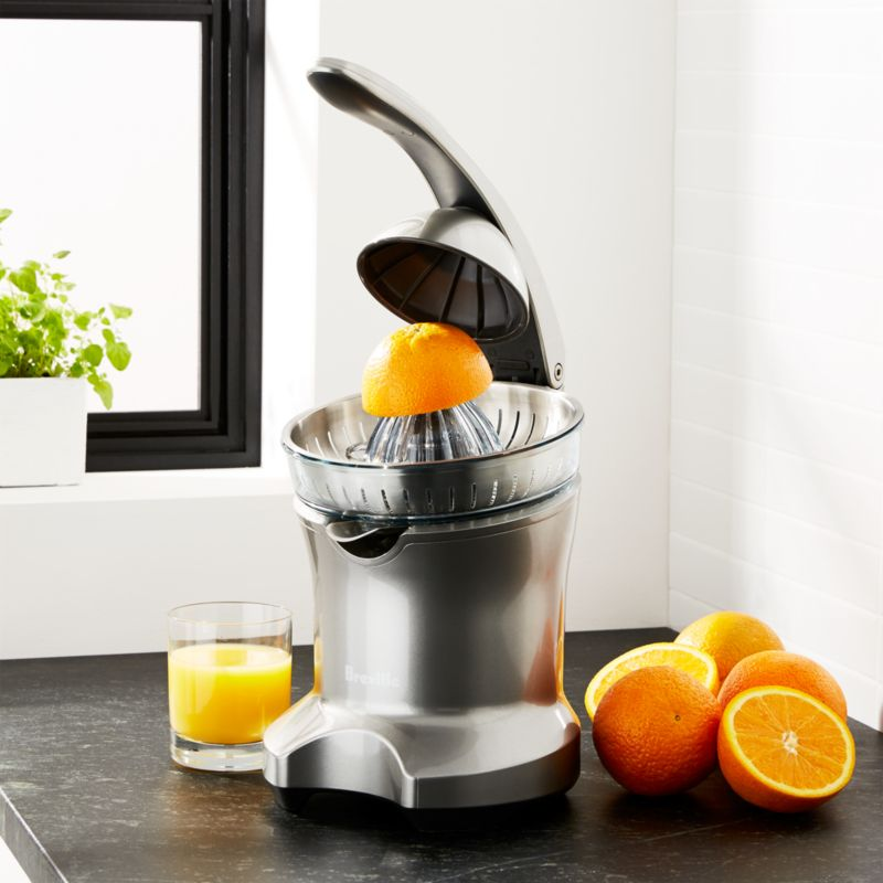 Breville Citrus Press Juicer Reviews Crate And Barrel