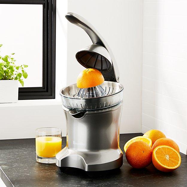 Breville ® Silver Electric Citrus Press