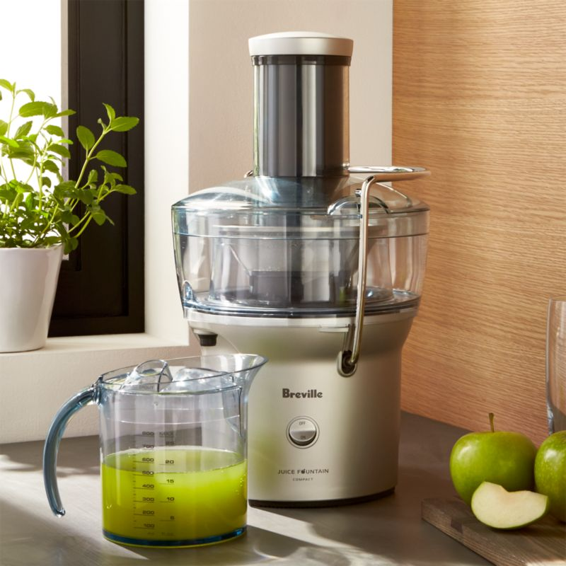 Breville Compact Juicer Bje200xl Reviews Crate And Barrel