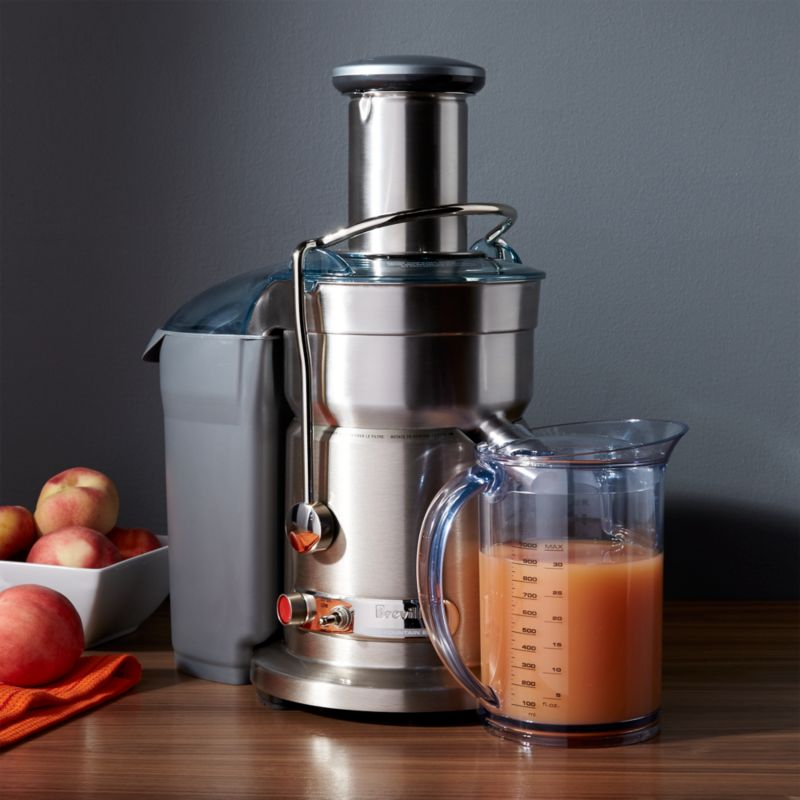 Breville Juice Fountain Elite 800JEXL + Reviews | Crate and Barrel