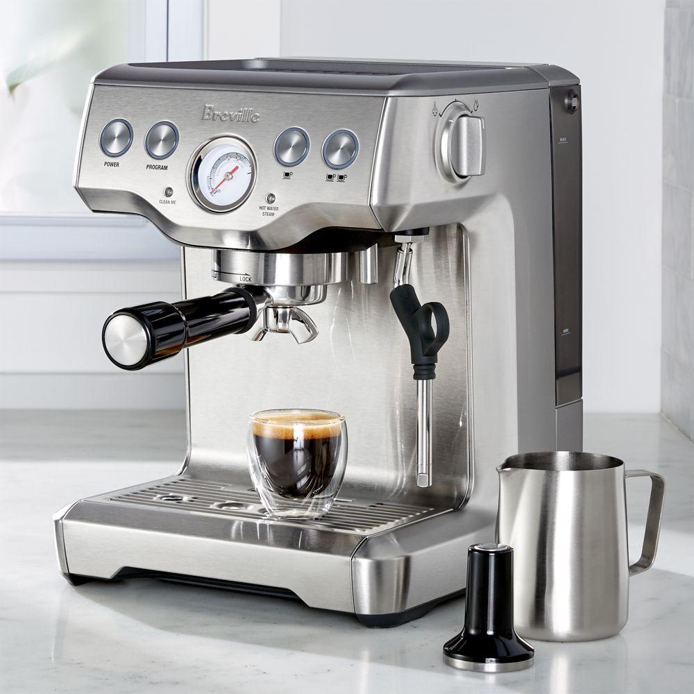 Breville ® Infuser Espresso Machine - Crate and Barrel