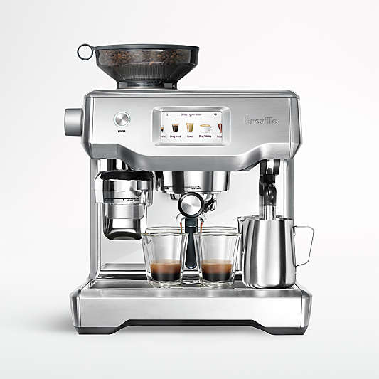 The Oracle ? Touch Brushed Stainless Steel Espresso Machine by Breville ?