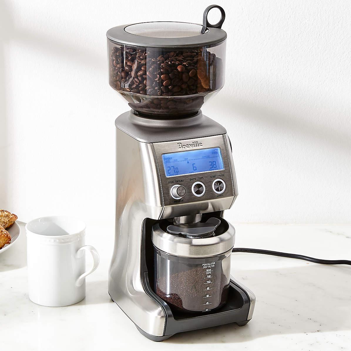 breville coffee machine grinder problem