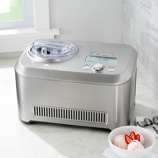 Breville Smart Scoop Ice Cream Maker Reviews Crate And Barrel