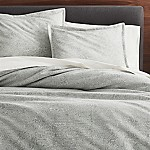 Brice Grey Patterned Full/Queen Duvet Cover