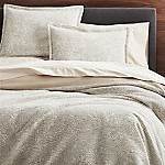 Brice Natural Patterned King Duvet Cover