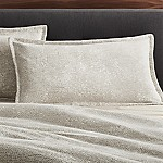 Brice Natural Patterned King Sham